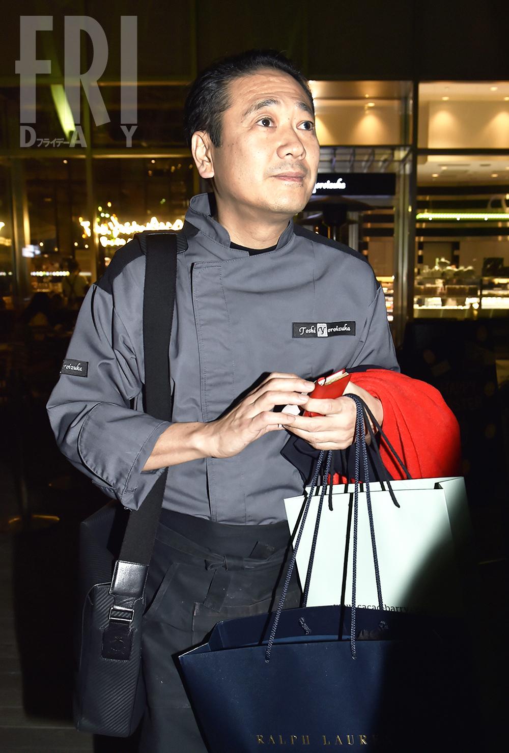 鎧塚シェフ、新進女優・西川可奈子との深夜デートをフライデーされる 亡くなった川島なお美の遺言は「できれば再婚しないでね」