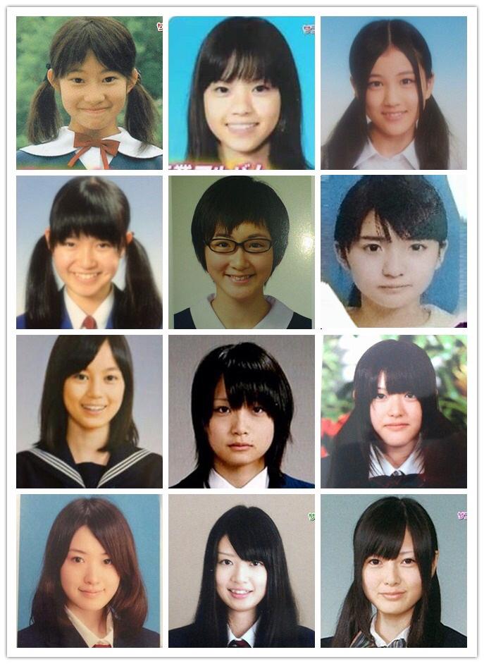 【画像】乃木坂46メンバーの卒アル、可愛い子が多すぎる