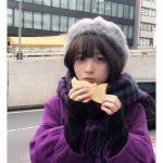 【画像】橋本環奈「たい焼きどこから食べる派?」
