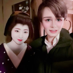 【画像】桑田の次男・Mattが舞妓さんと美白競演ショット!