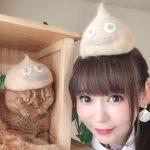 【朗報】中川翔子さん、猫の毛でスライムぼうしを作る←かわいいとツイッターで絶賛の嵐