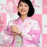 吉岡里帆 愛らしいピンク浴衣「プライベートも…」