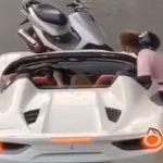 【動画あり】フェラーリ止めさせバールでボコボコ! 原付バイク男「兄ちゃん、調子乗ってんな」