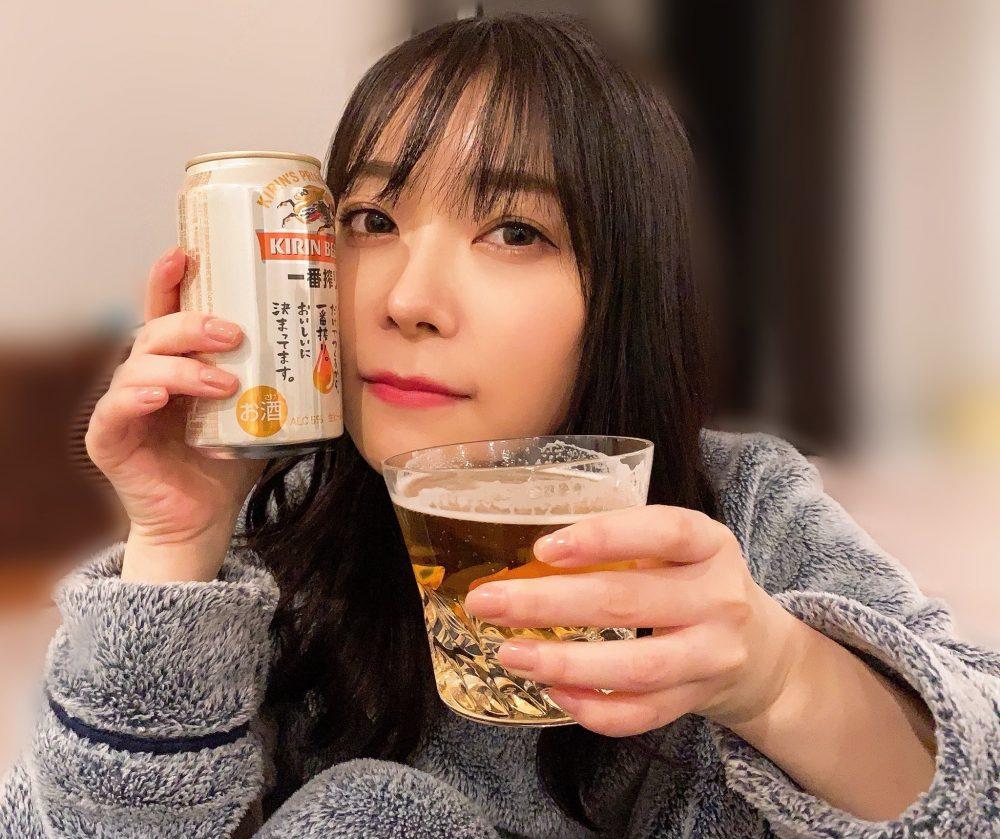 【画像】缶ビールを飲む指原莉乃さん、可愛すぎると日本国民大絶賛!