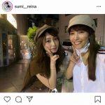 #鷲見玲奈アナ  宇垣美里アナと仲良し2ショット「姉妹みたい」「頼りになる美女2人」