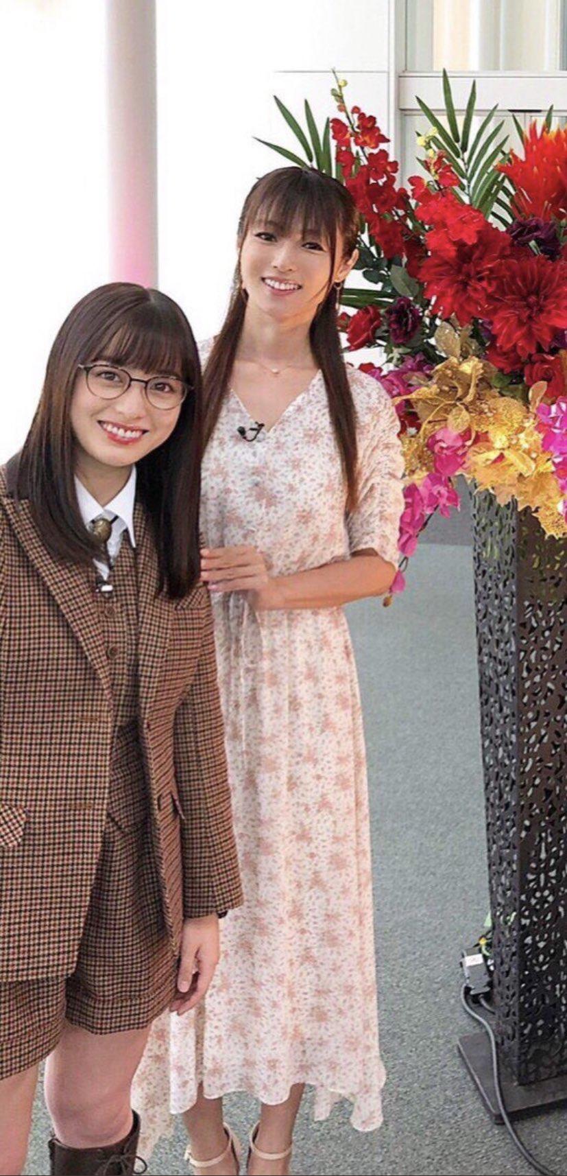 【悲報】橋本環奈さん、38歳のおばさんに可愛さで負ける