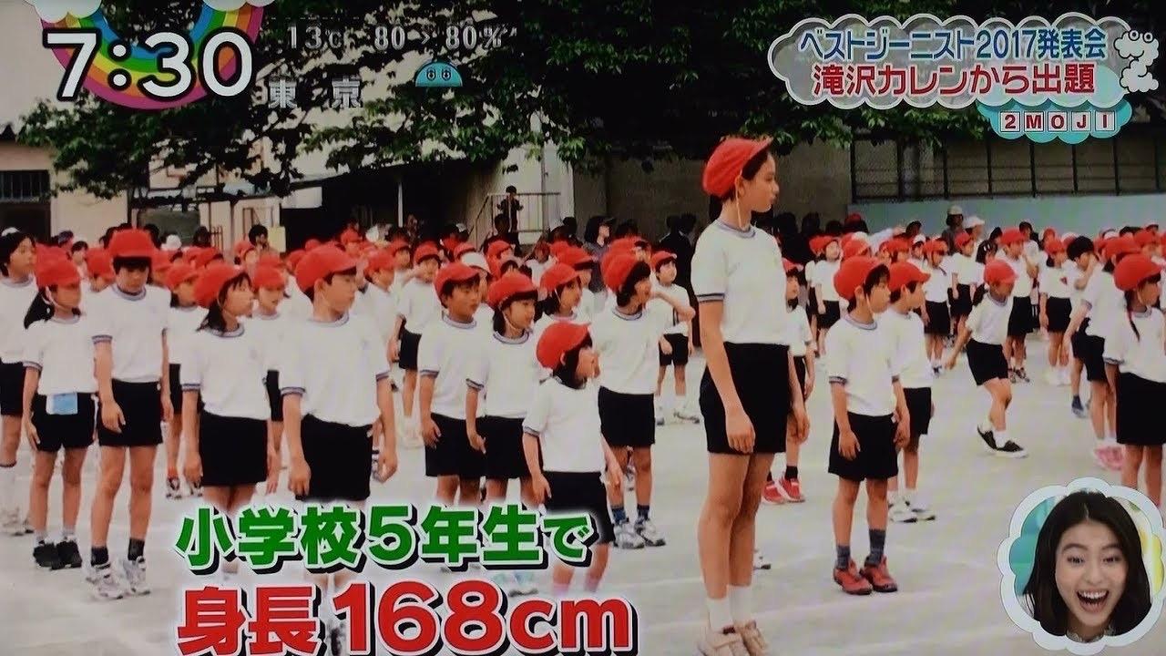 【画像】滝沢カレンさんの女子小学生時代、発育が良すぎるwwwwwwwwwwwwwwwwwwwwww